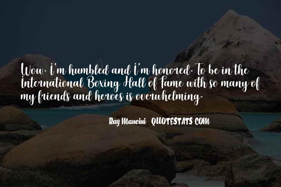Ray Mancini Quotes #1425242