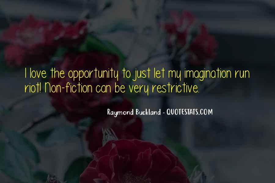 Raymond Buckland Quotes #1517205