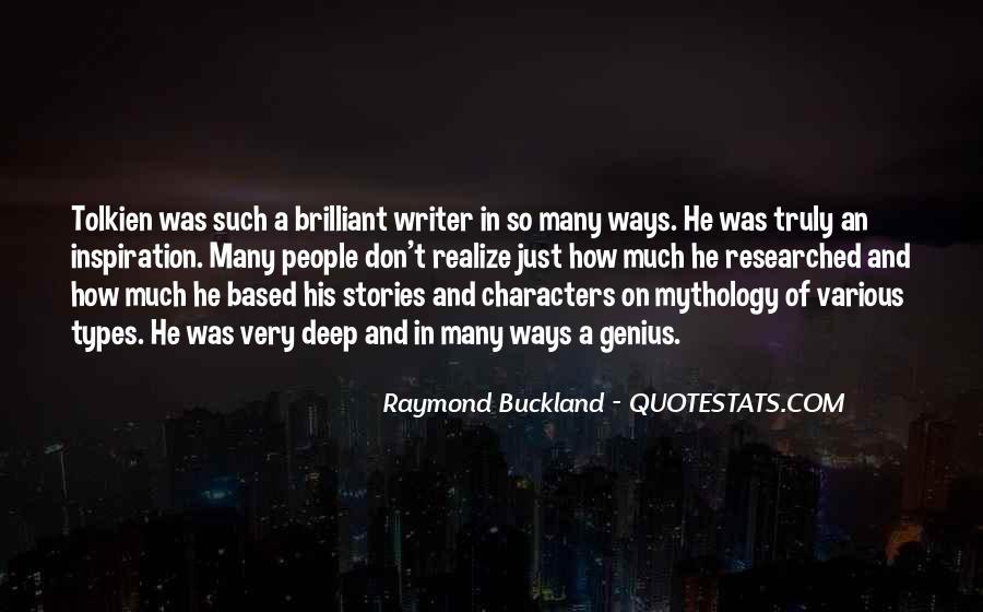 Raymond Buckland Quotes #643112