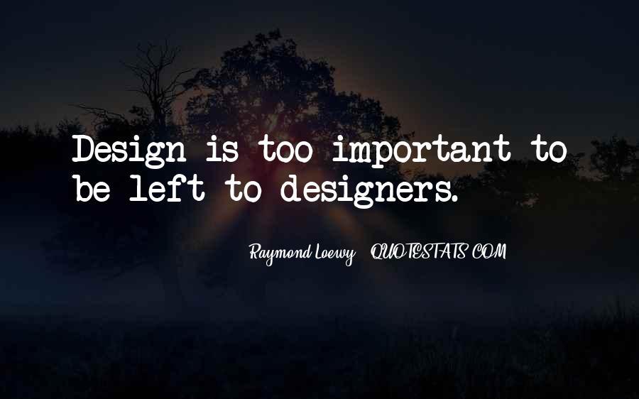 Raymond Loewy Quotes #276608