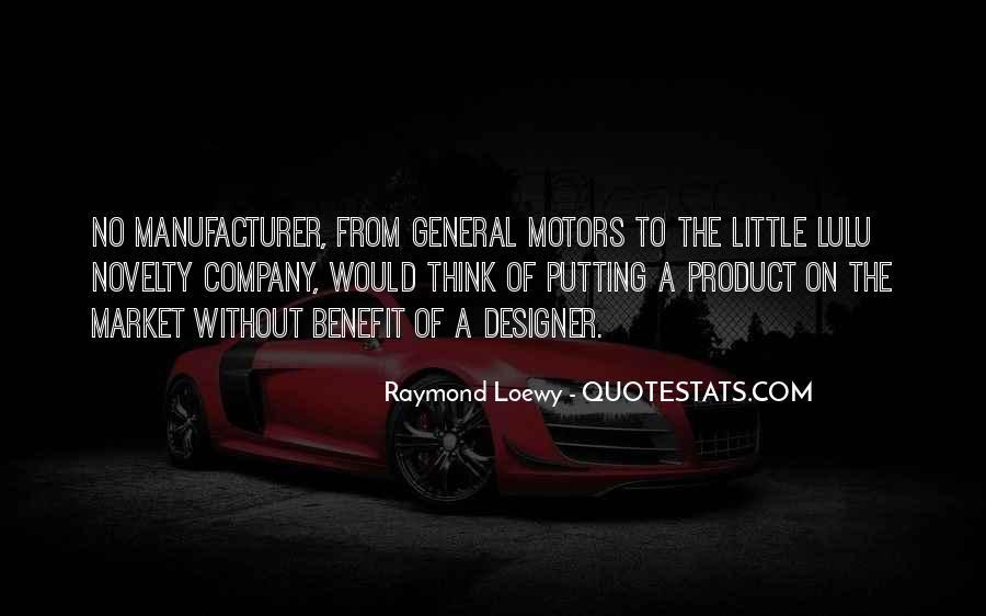 Raymond Loewy Quotes #317986