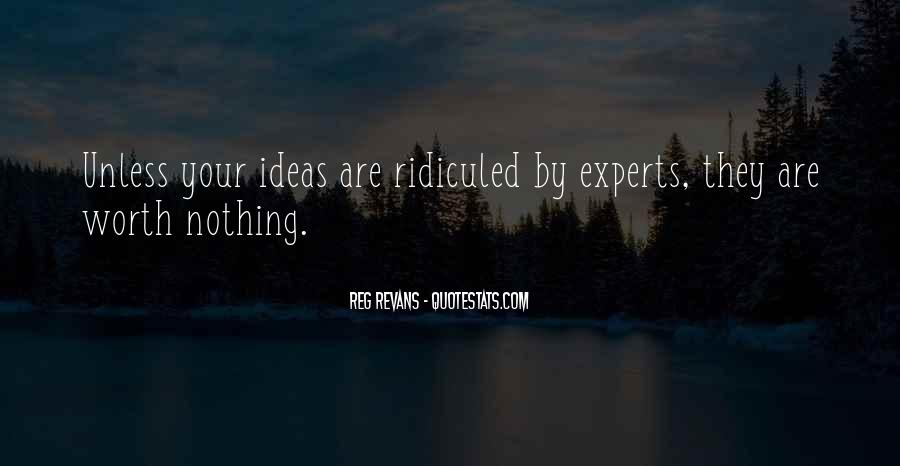 Reg Revans Quotes #503947