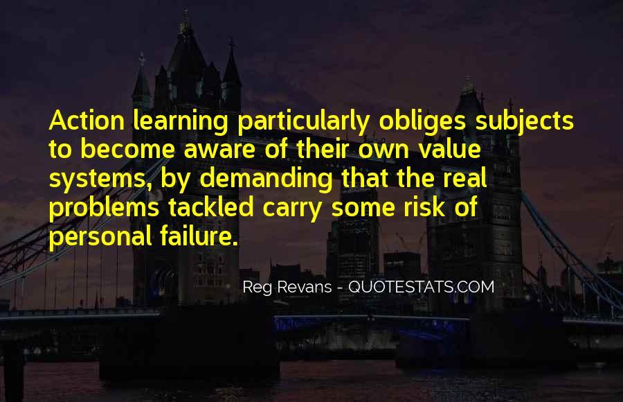 Reg Revans Quotes #575226