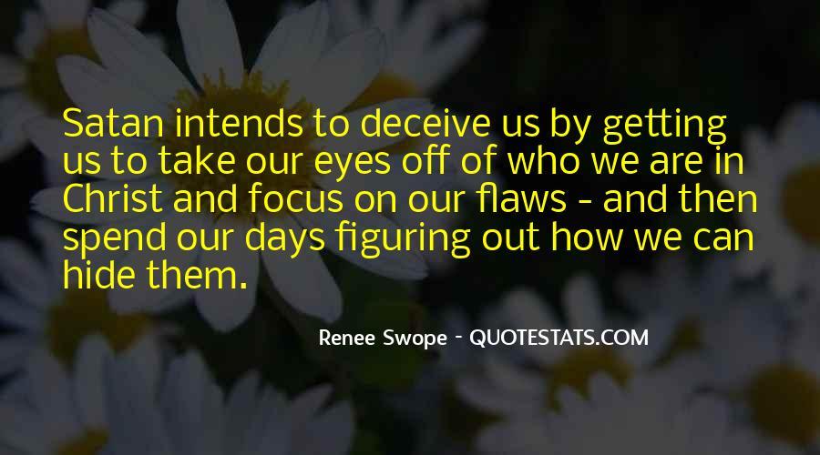 Renee Swope Quotes #1053580
