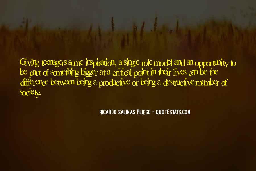 Ricardo Salinas Pliego Quotes #762615
