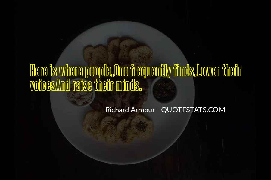Richard Armour Quotes #325724