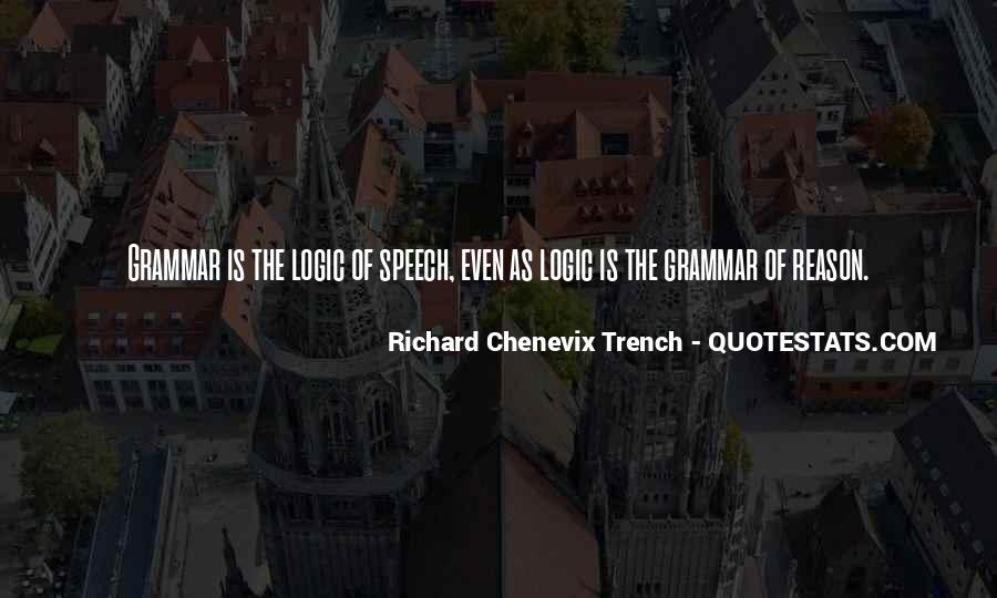 Richard Chenevix Trench Quotes #1030771
