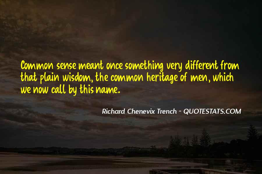 Richard Chenevix Trench Quotes #126336