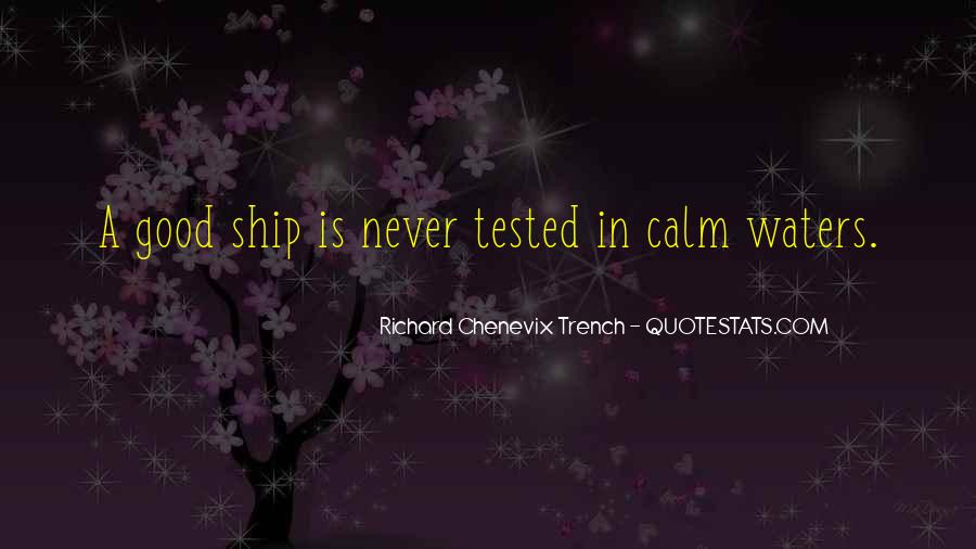 Richard Chenevix Trench Quotes #1747838