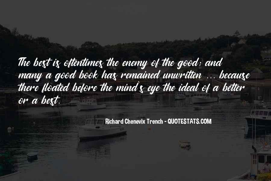 Richard Chenevix Trench Quotes #191715