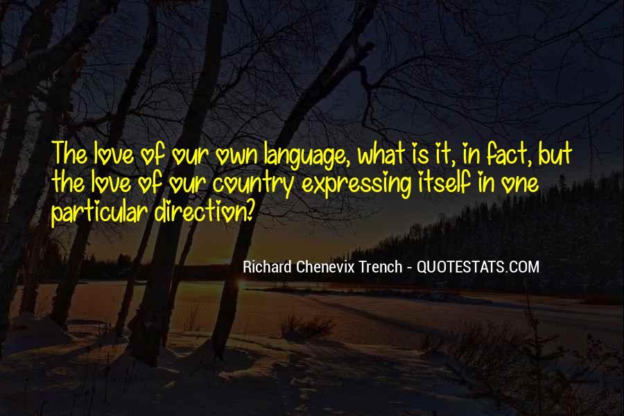 Richard Chenevix Trench Quotes #210810