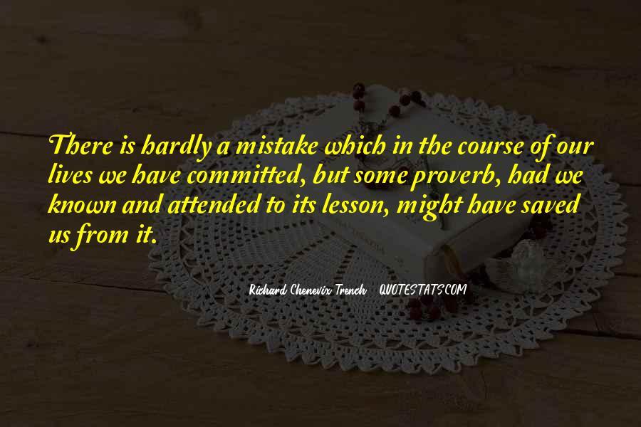 Richard Chenevix Trench Quotes #63720