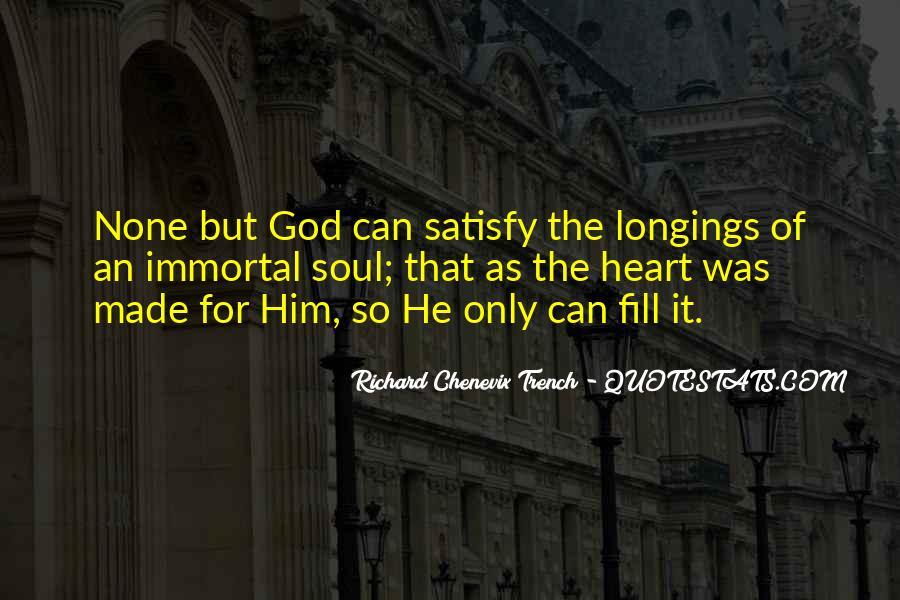 Richard Chenevix Trench Quotes #841282