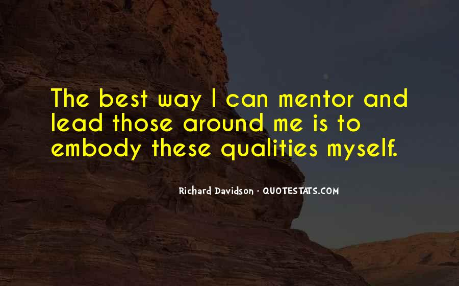 Richard Davidson Quotes #1473066