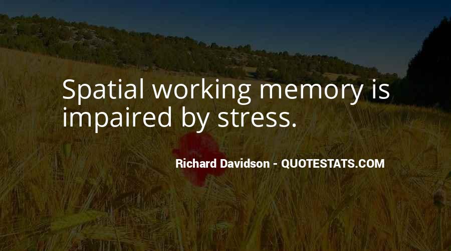 Richard Davidson Quotes #85251