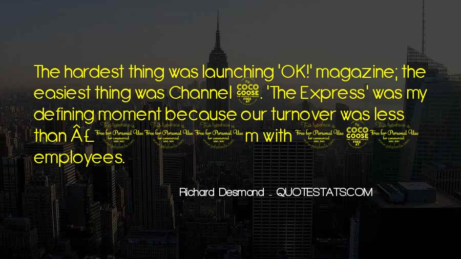 Richard Desmond Quotes #35730