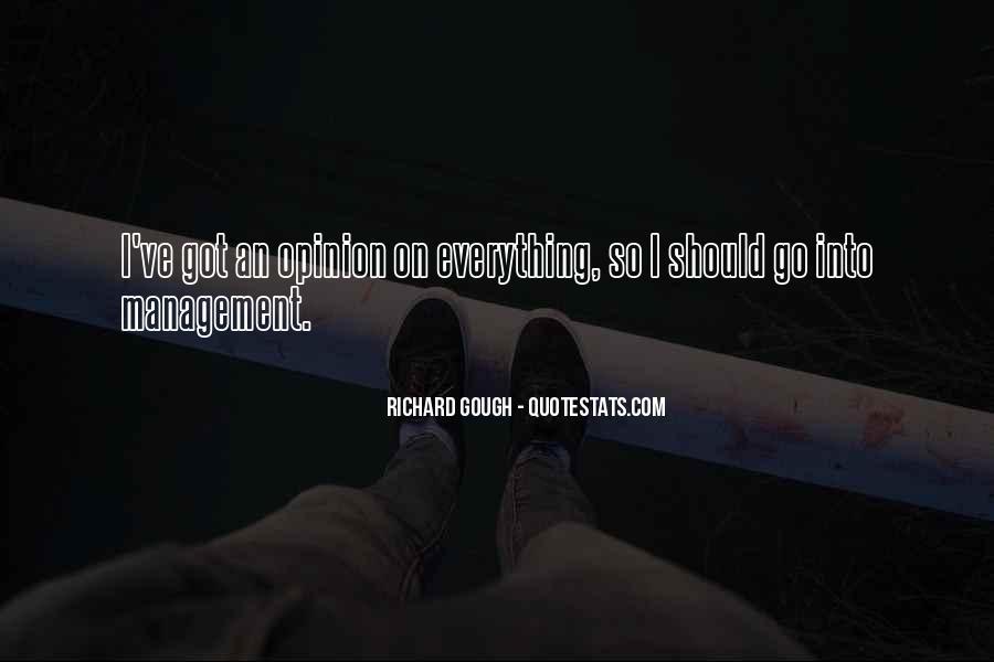 Richard Gough Quotes #1139087