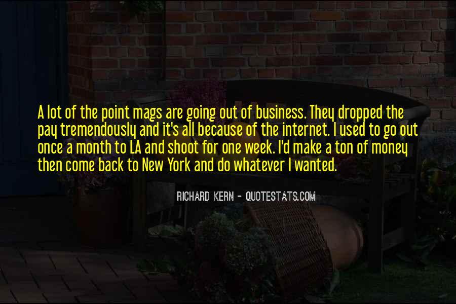 Richard Kern Quotes #244460