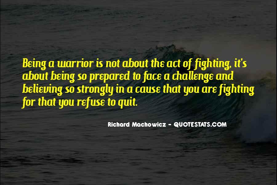 Richard Machowicz Quotes #1487166