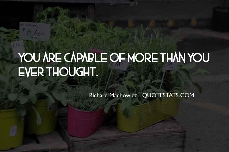 Richard Machowicz Quotes #65445