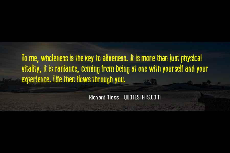 Richard Moss Quotes #943447
