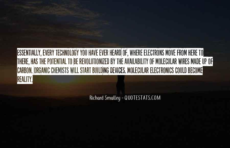 Richard Smalley Quotes #1874591