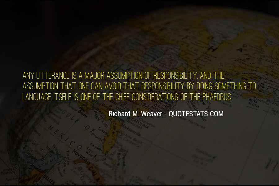 Richard Weaver Quotes #1579534