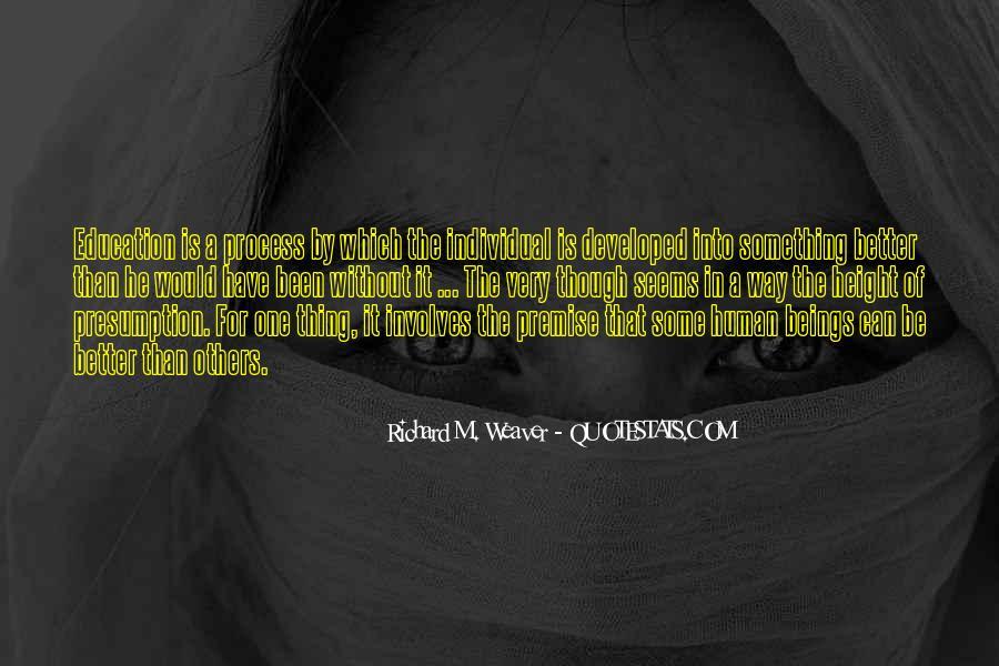 Richard Weaver Quotes #24546