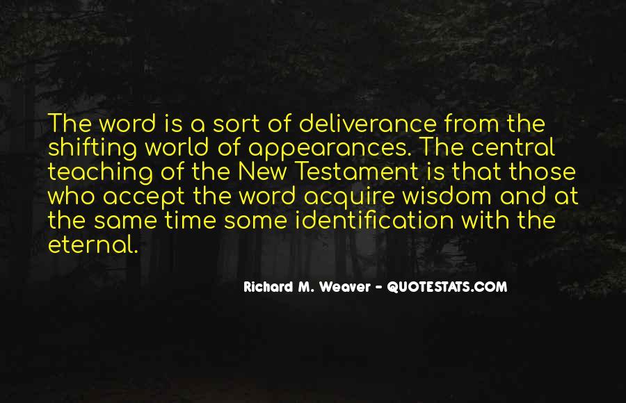 Richard Weaver Quotes #783648