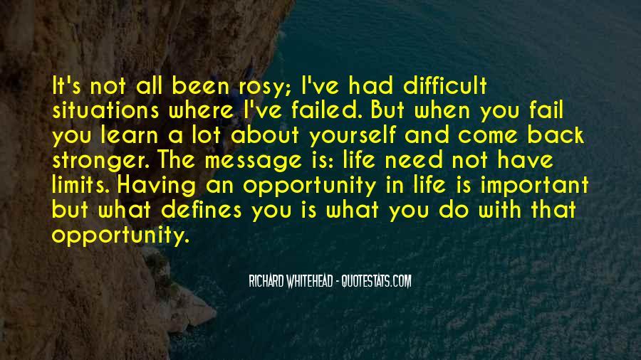 Richard Whitehead Quotes #906028