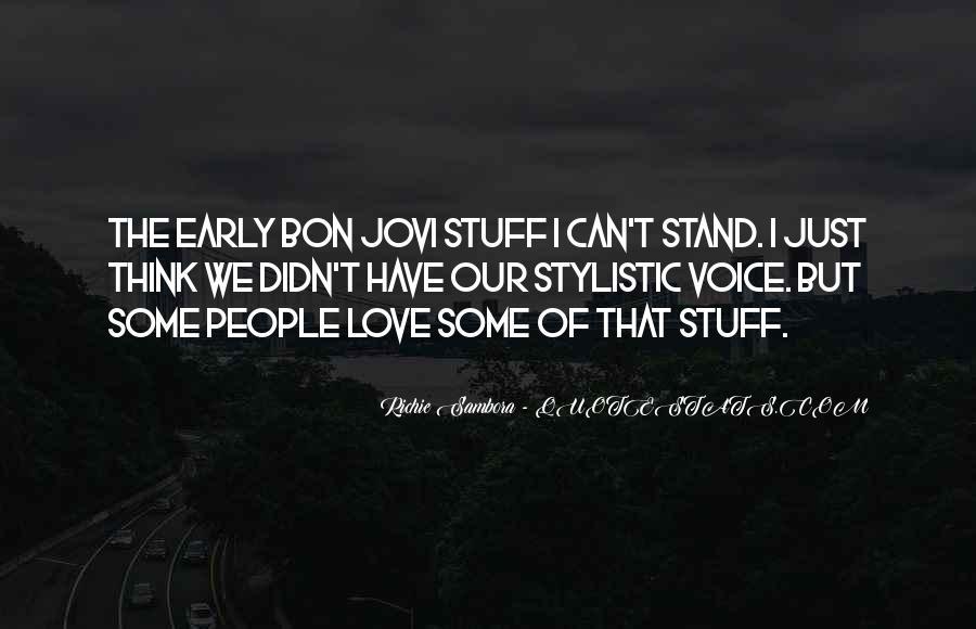 Richie Sambora Quotes #1067933