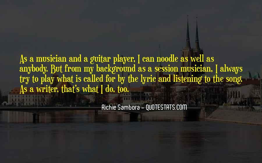Richie Sambora Quotes #1319770