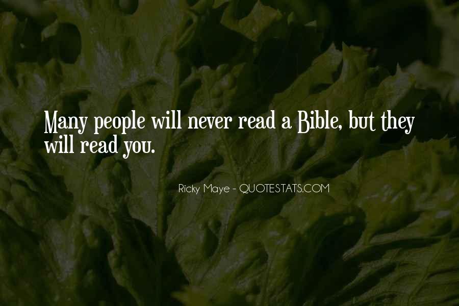 Ricky Maye Quotes #1400140