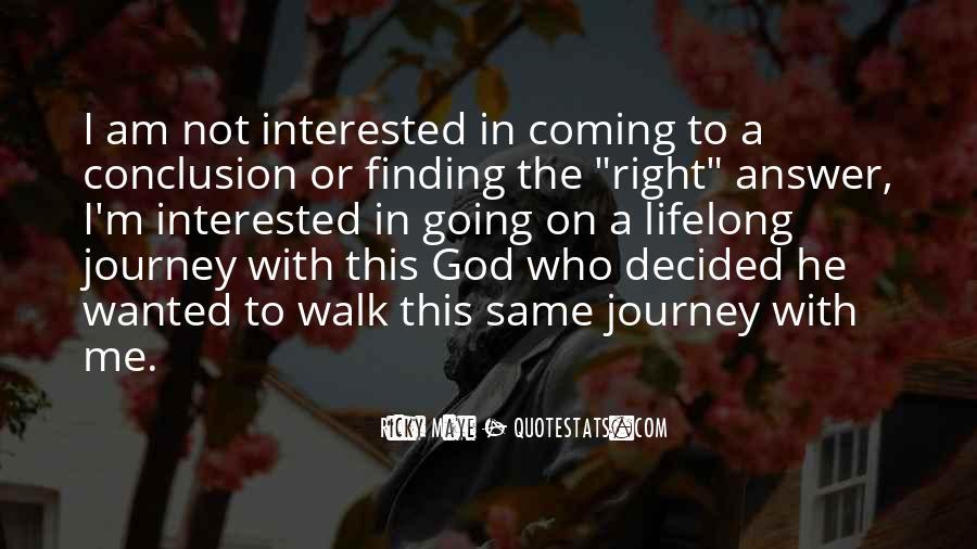 Ricky Maye Quotes #1580838