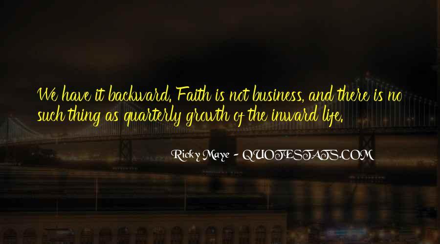 Ricky Maye Quotes #1644799
