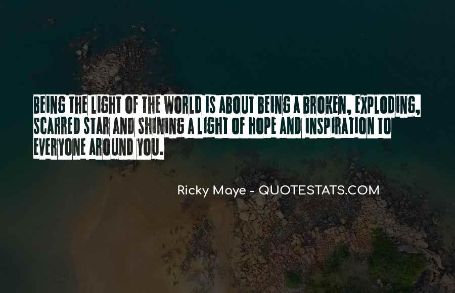 Ricky Maye Quotes #662024