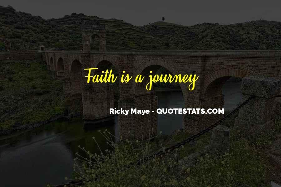 Ricky Maye Quotes #732513