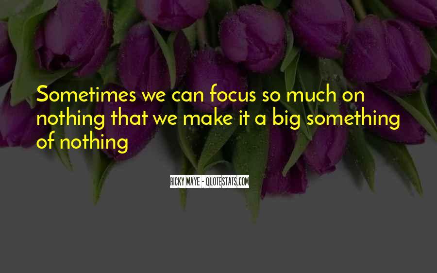Ricky Maye Quotes #778649
