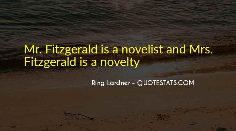 Ring Lardner Quotes #1007584