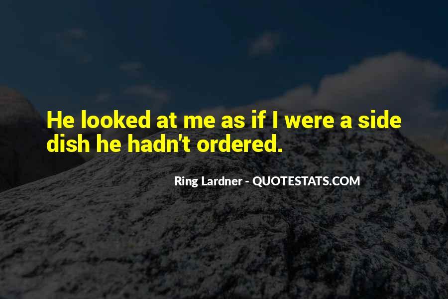 Ring Lardner Quotes #1025468