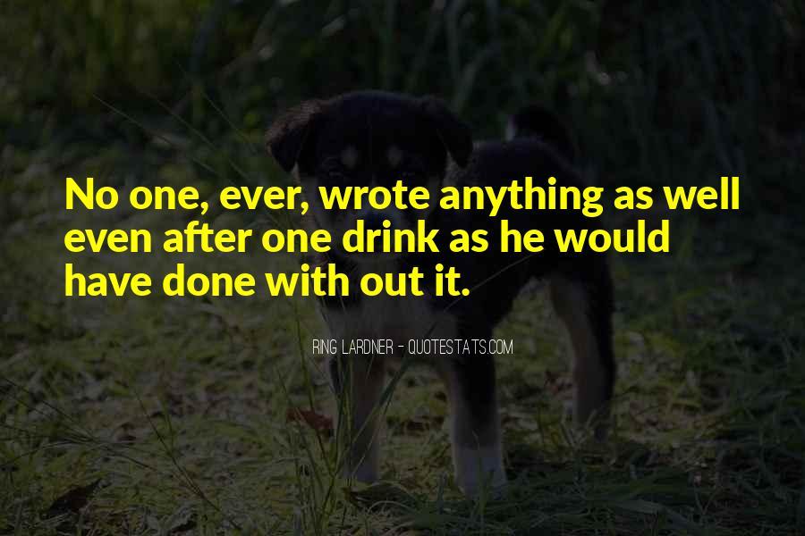 Ring Lardner Quotes #1398266