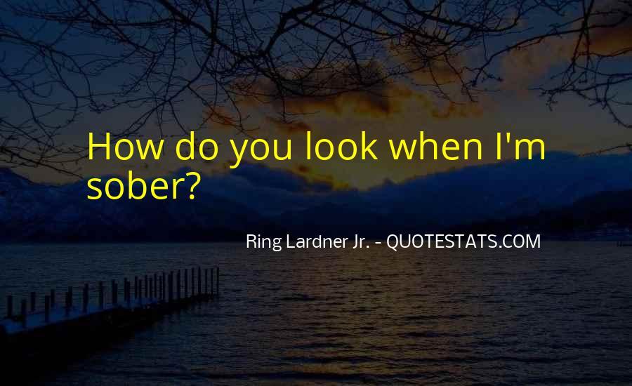 Ring Lardner Quotes #530852