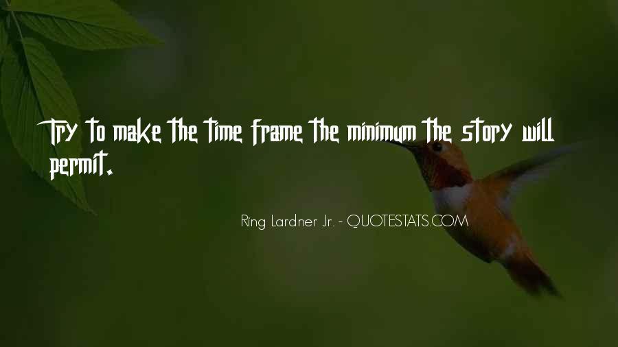 Ring Lardner Quotes #691197