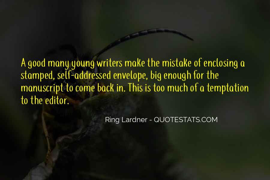 Ring Lardner Quotes #769528