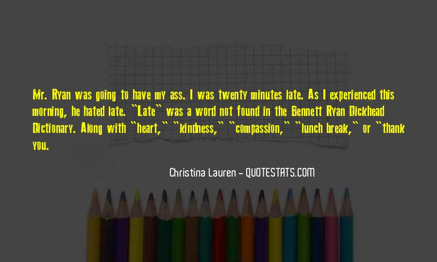 Quotes About Lunch Break #1649863
