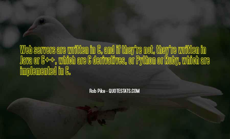 Rob Pike Quotes #225942
