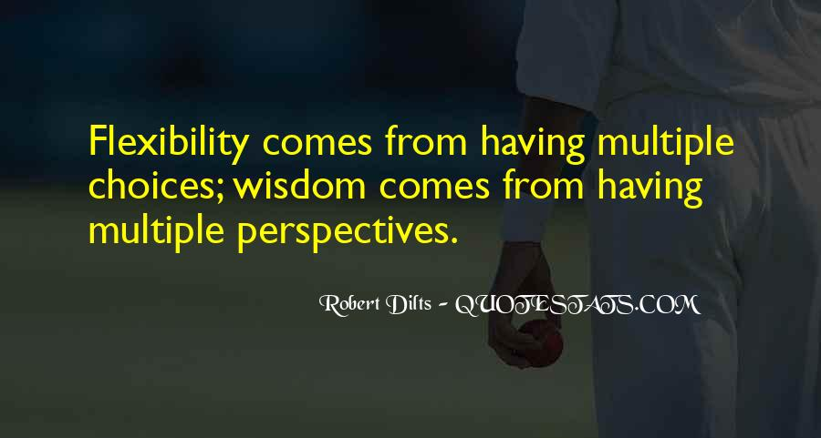 Robert Dilts Quotes #907977