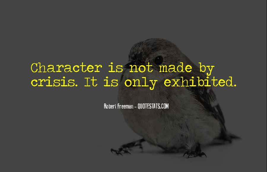 Robert Freeman Quotes #377634