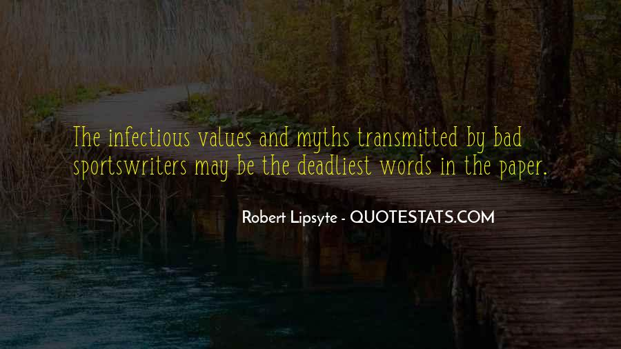 Robert Lipsyte Quotes #1040627