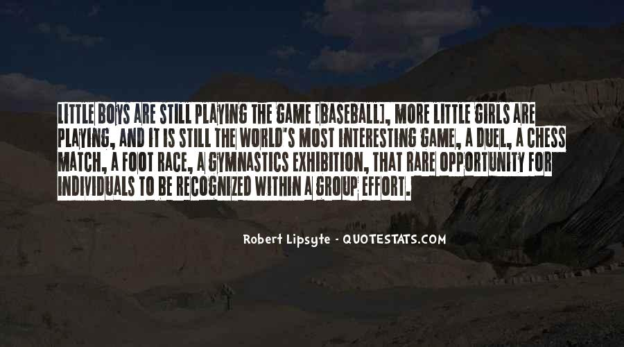 Robert Lipsyte Quotes #452280